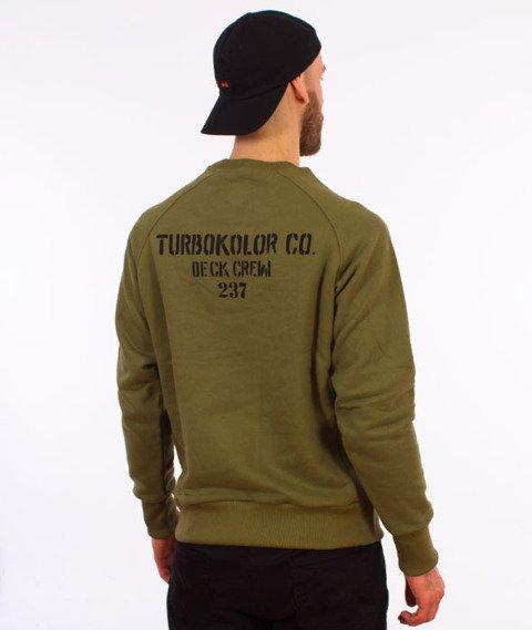 Turbokolor-Anchor Crewneck Khaki