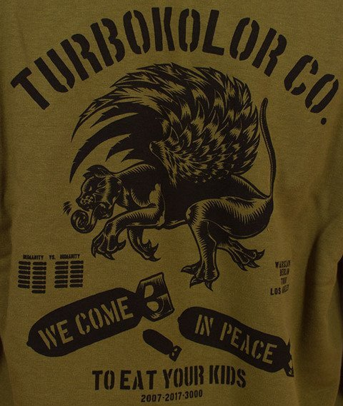 Turbokolor-Boxer Peace Hoody Khaki