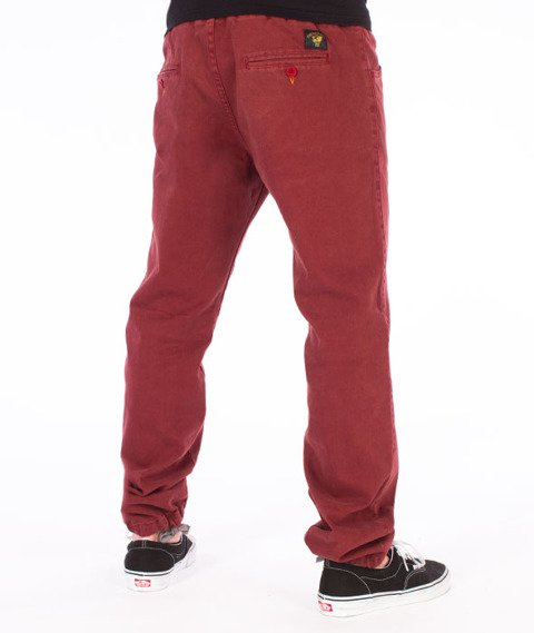 Turbokolor-Deck Crew Chino Spodnie Jogger Brown
