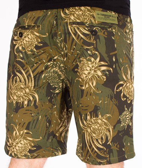 Turbokolor-Deck Crew Shorts Spodnie Camo