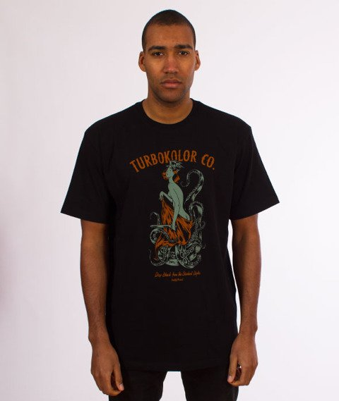 Turbokolor-Depths T-Shirt Black