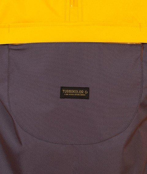 Turbokolor-Freitag Jacket Grey Yellow