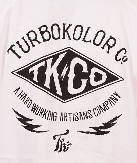 Turbokolor-Lightning Longsleeve White