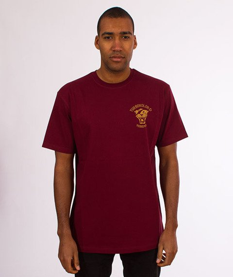 Turbokolor-OG Tee T-Shirt Burgundy