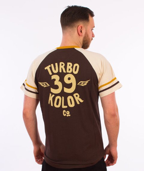 Turbokolor-Old School T-Shirt Brown