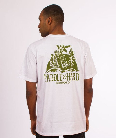 Turbokolor-Paddle Hard T-Shirt White