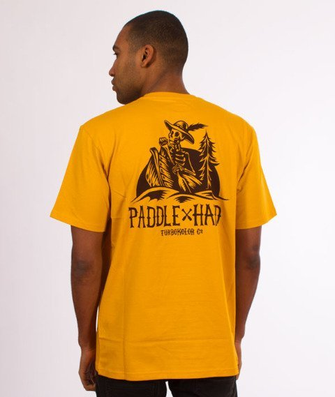 Turbokolor-Paddle Hard T-Shirt Yellow