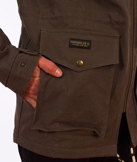 Turbokolor-Parka Jacket Khaki