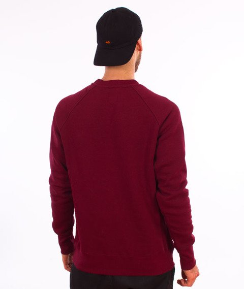 Turbokolor-Simple Thread Flag Vintage Crewneck Burgundy