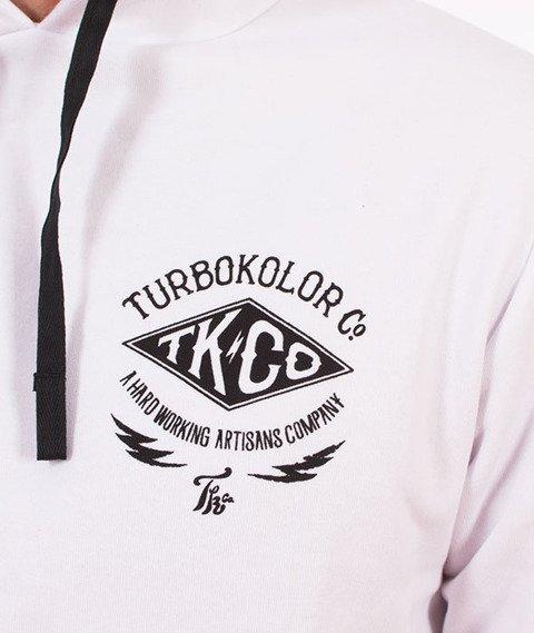 Turbokolor-TK Hoody Bluza Kaptur White