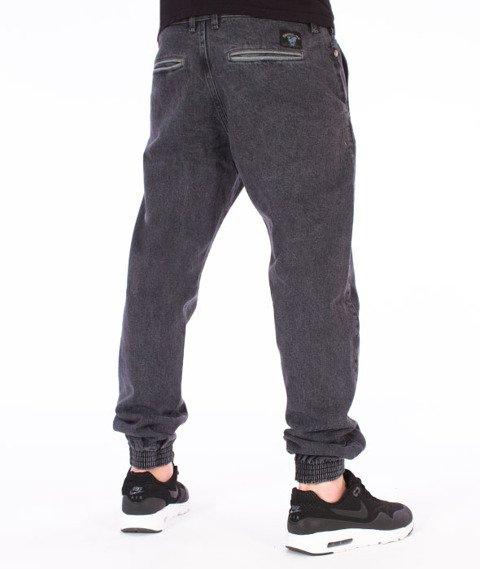 Turbokolor-Trainer Chino Spodnie Jogger Washed Black