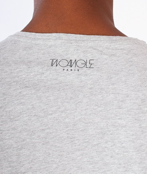 Two Angle-Sthuli T-Shirt Mixed Grey
