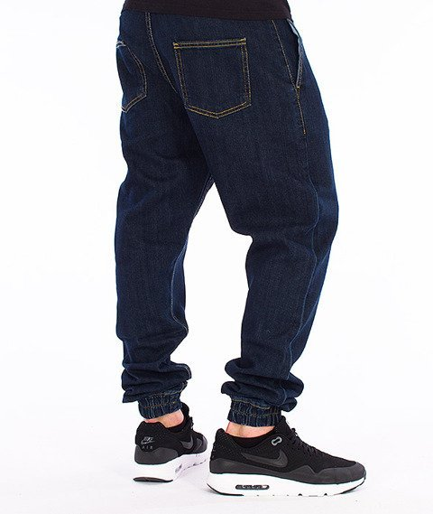 Unhuman-Klasyk Jogger Jeans Dark Blue