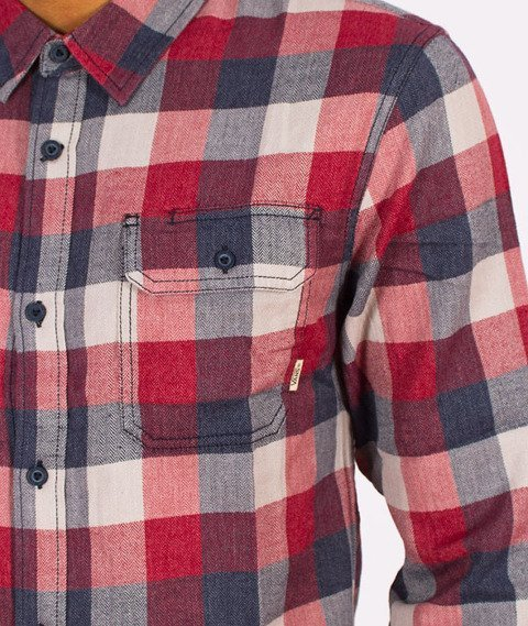 Vans-Alameda Shirt Dress Blues/Rhubarb
