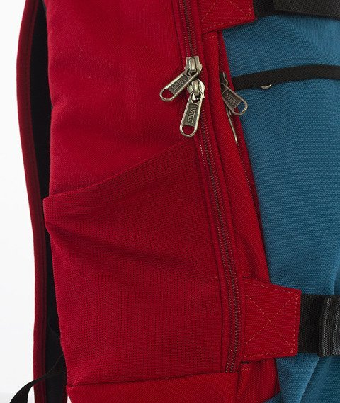 Vans-Transient III SK8P Backpack Red Dahlia/Ocean Blue