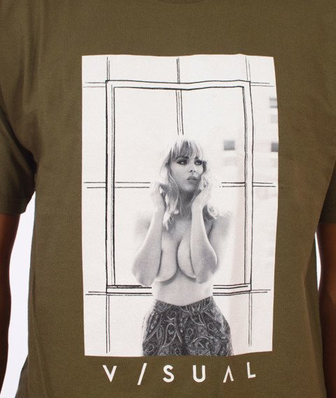 Visual-Carpe Diem T-Shirt Military Green