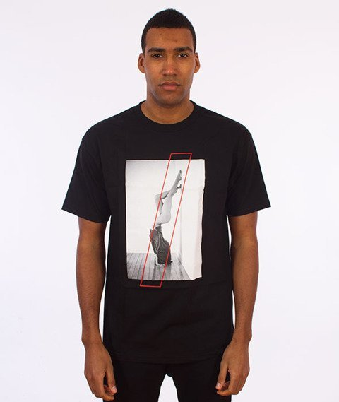 Visual-Handstand T-Shirt Black