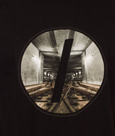 Visual-Tunnel T-Shirt Black
