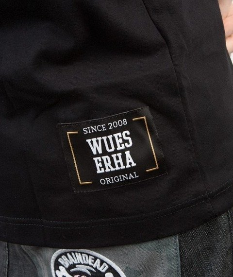 WSRH-Classic Logo T-shirt Czarny/Biały