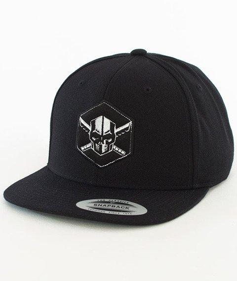 WSRH-Hockey Snapback Czarny