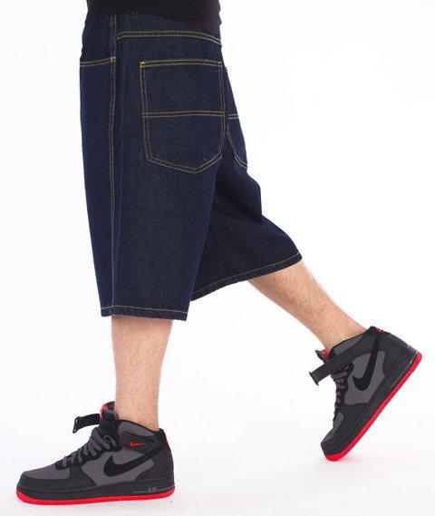 WSRH-Patch Krótkie Spodnie Jeans Dark Blue