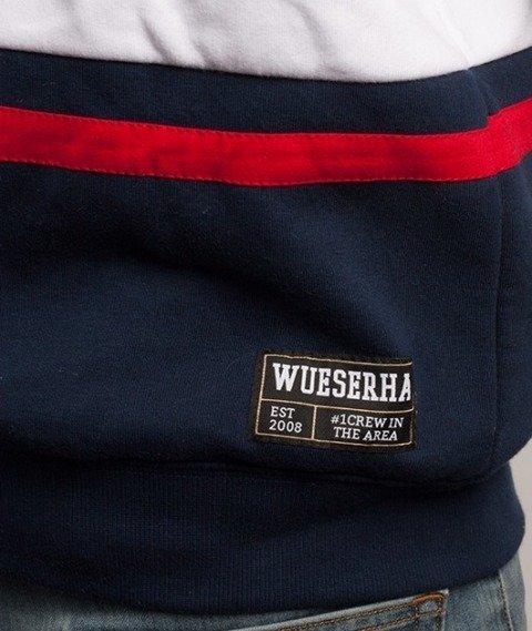 WSRH-Stripes Bluza Granaowa/Biała