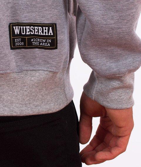 WSRH-Tag Bluza Kaptur Szary