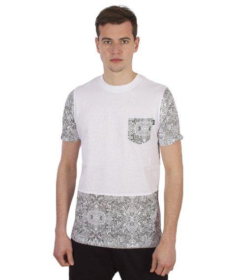 Wrung-Pocketribe T-Shirt Biały