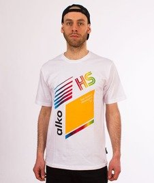 Alkopoligamia-Tapes Kodak T-Shirt Biały