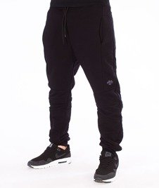 Backyard Cartel-Direction Sweatpants Spodnie Dresowe Czarne