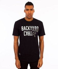 Backyard Cartel-Slant T-Shirt Czarny