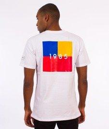Biuro Ochrony Rapu-Colors Square T-shirt Biały