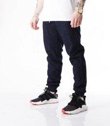 Biuro Ochrony Rapu-Jogger Fit Guma Strecz Spodnie BOR New Outline Dark