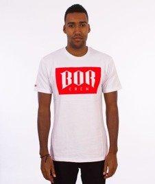 Biuro Ochrony Rapu-Newbor T-shirt Biały/Czerwony