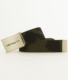 Carhartt-Clip Belt Chrome Camo Combat Green