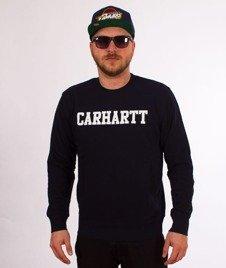 Carhartt-College Sweatshirt Dark Navy/White