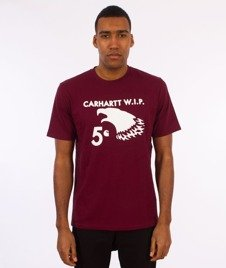Carhartt WIP-5 Cent Eagle T-Shirt Varnish/White