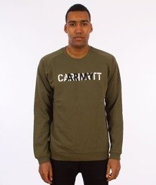 Carhartt WIP-CA Training Sweatshirt Bluza Rover Green/Multicolor