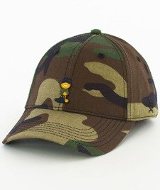 Cayler & Sons-WL Merch Garfield Curved Strapback Camo