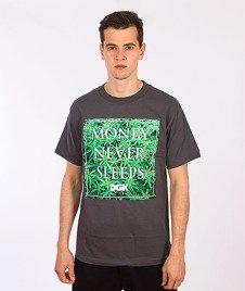 DGK-Money Field T-Shirt Grafitowy