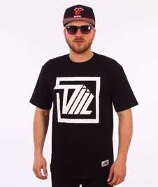DIIL-Next Level Square T-Shirt Czarny