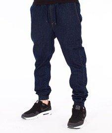 Diamante-Classic Jogger Jeans RM Pants Spodnie Granatowe