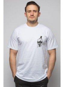 Diamante-Don't Die T-Shirt Biały