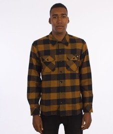Dickies-Sacramento Shirt Koszula Duck Brown