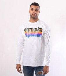 El Polako-Colors Longsleeve Biały