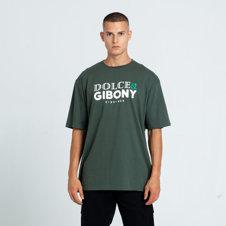 El Polako DOLCE&GIBONY T-Shirt Khaki