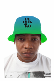 El Polako LETTERS Bucket Hat Zielony