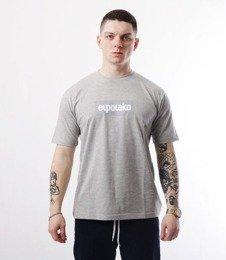 El Polako-Logobox T-Shirt Szary