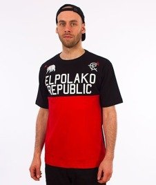El Polako-Republic T-Shirt Czarny