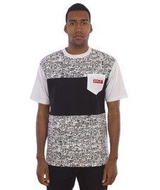 El Polako-Tags T-Shirt Biały/Czarny